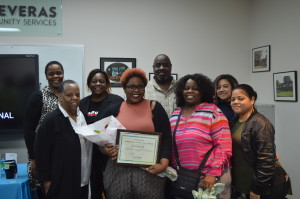 Full Time Employee of the Year, Synthia Williams Employment Services Coordinator