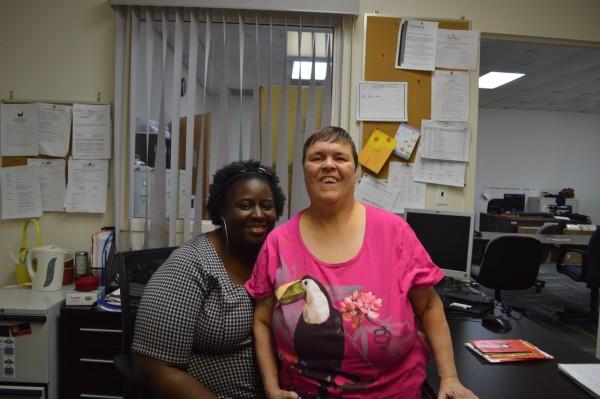 Lena and Tracy